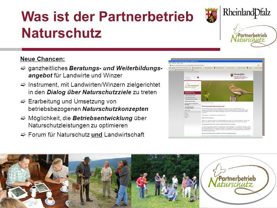 Was ist der Partnerbetrieb Naturschutz