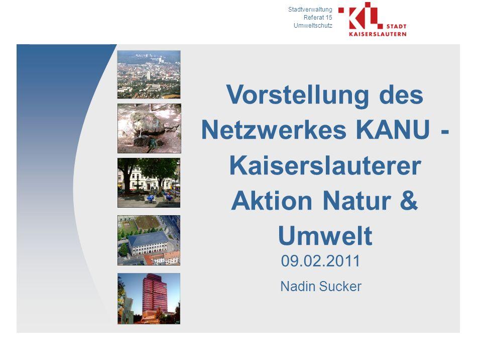 Vorstellung des Netzwerkes KANU -