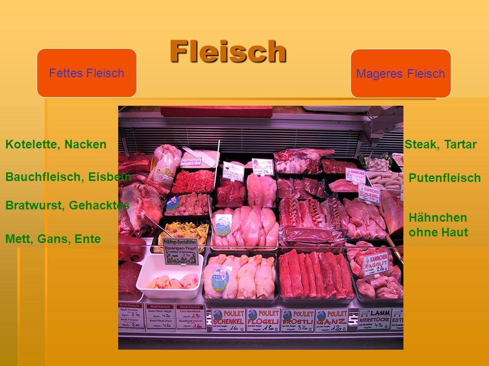 Fleisch Fettes Fleisch Mageres Fleisch Kotelette, Nacken Steak, Tartar