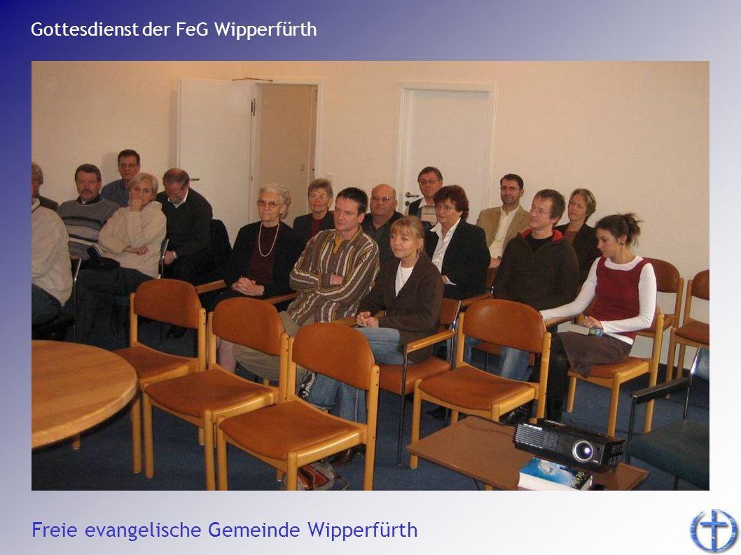 Gottesdienst der FeG Wipperfürth