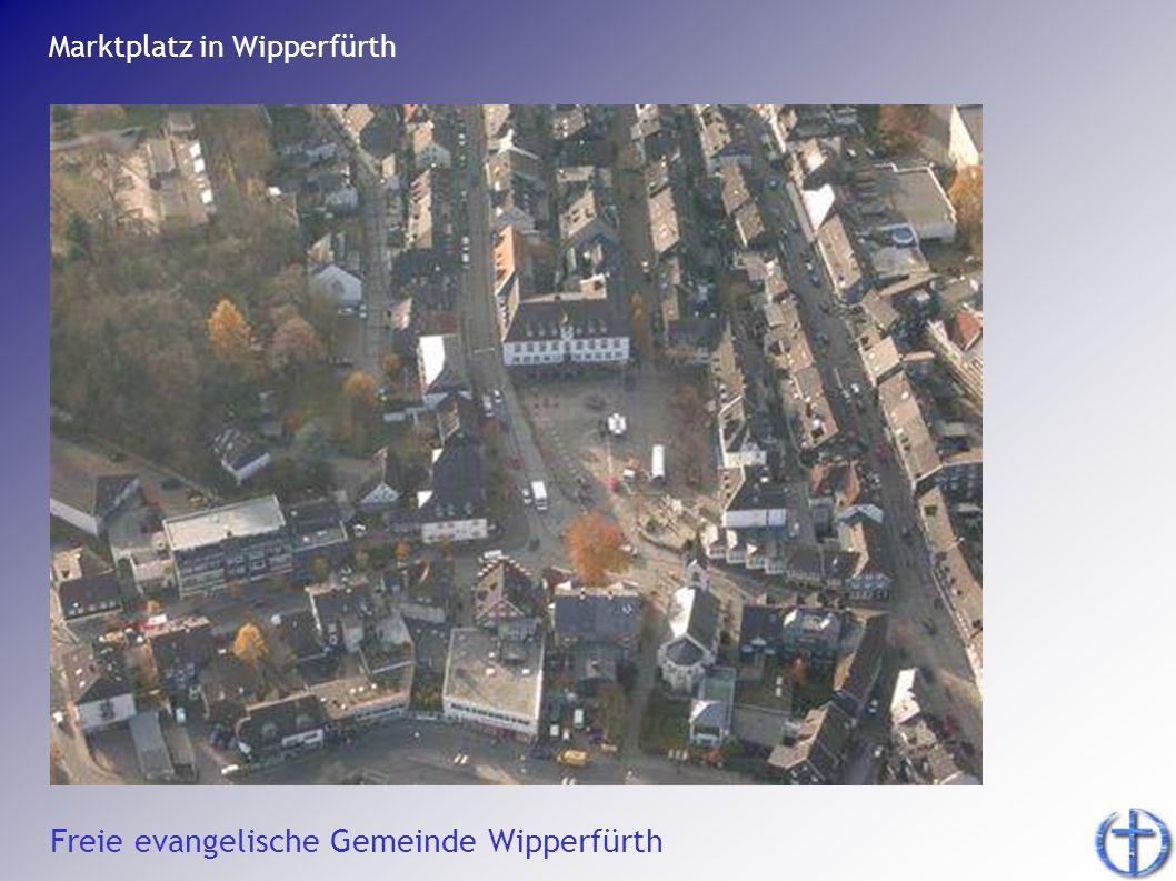 Marktplatz in Wipperfürth