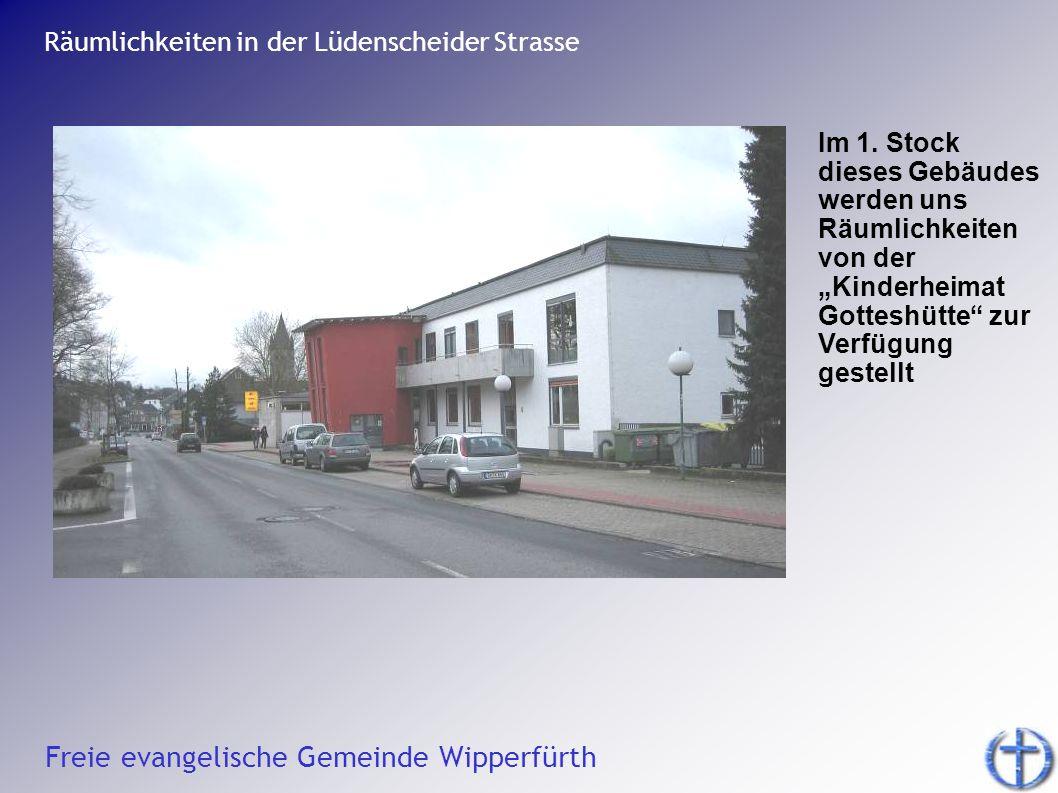Räumlichkeiten in der Lüdenscheider Strasse
