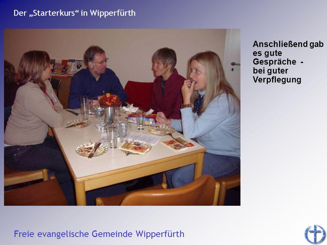 """Der """"Starterkurs in Wipperfürth"""