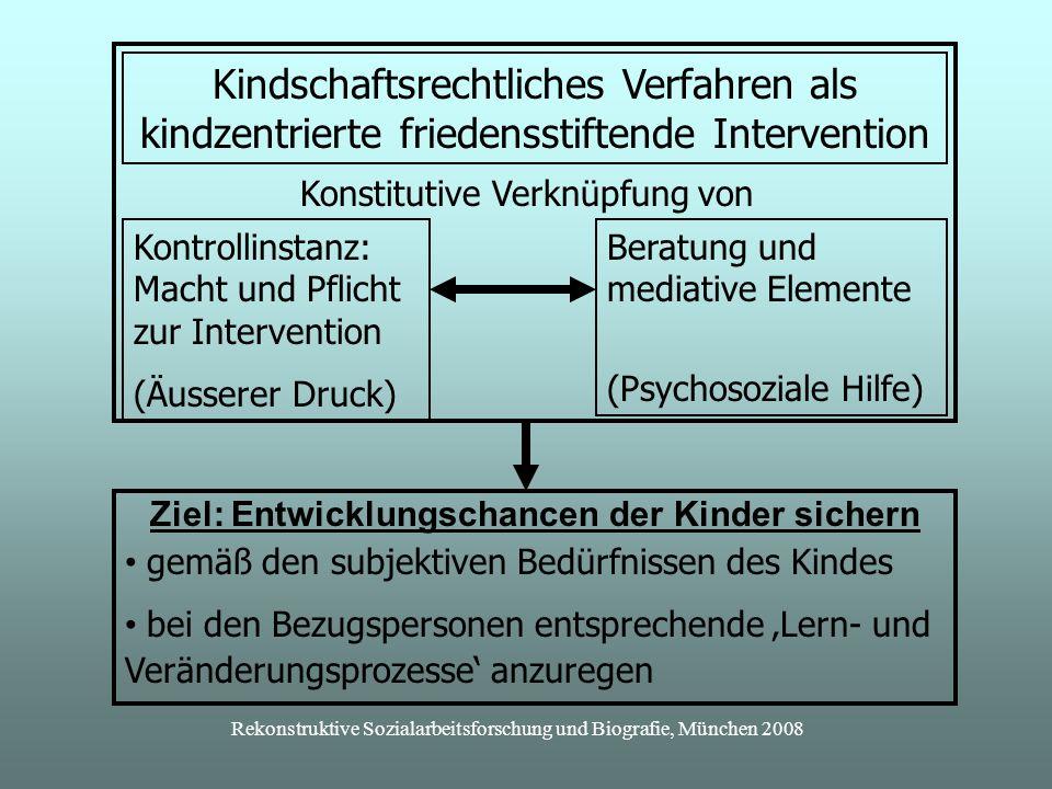 Kindschaftsrechtliches Verfahren als kindzentrierte friedensstiftende Intervention