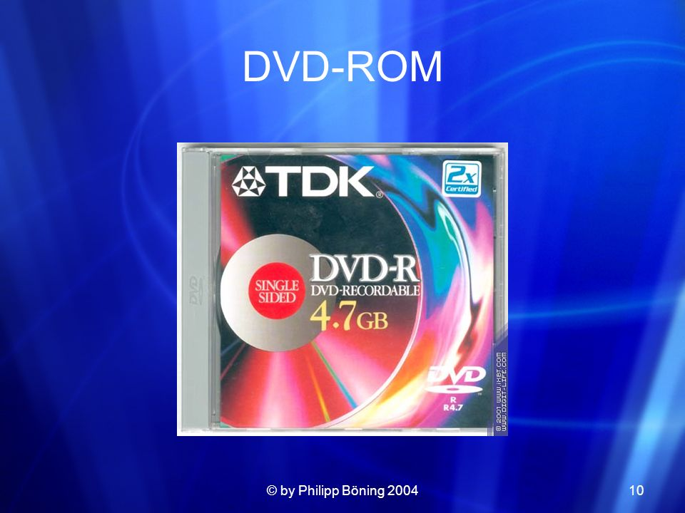 DVD-ROM © by Philipp Böning 2004