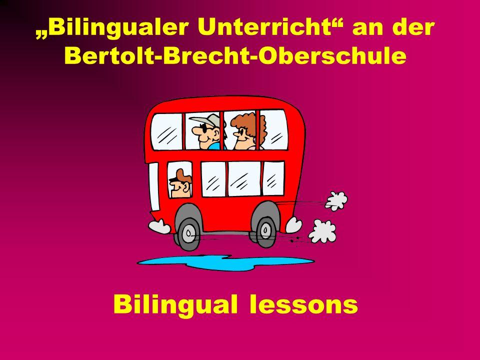 """""""Bilingualer Unterricht an der Bertolt-Brecht-Oberschule"""