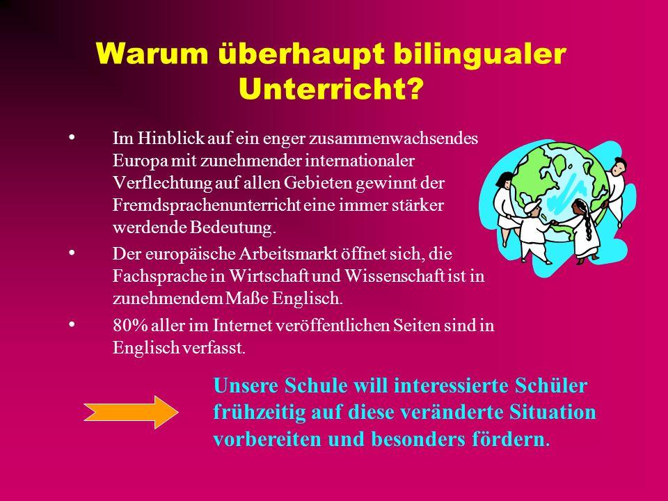 Warum überhaupt bilingualer Unterricht