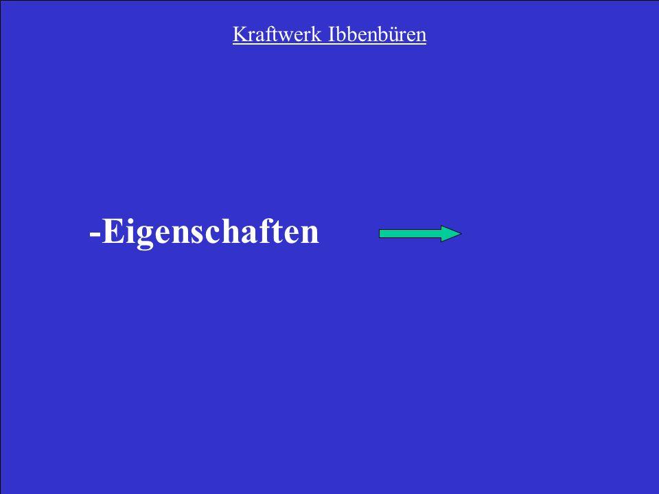 Kraftwerk Ibbenbüren -Eigenschaften