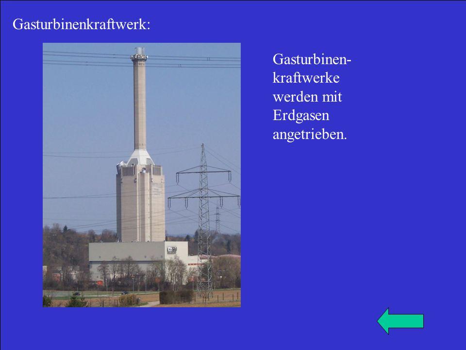 Gasturbinenkraftwerk: