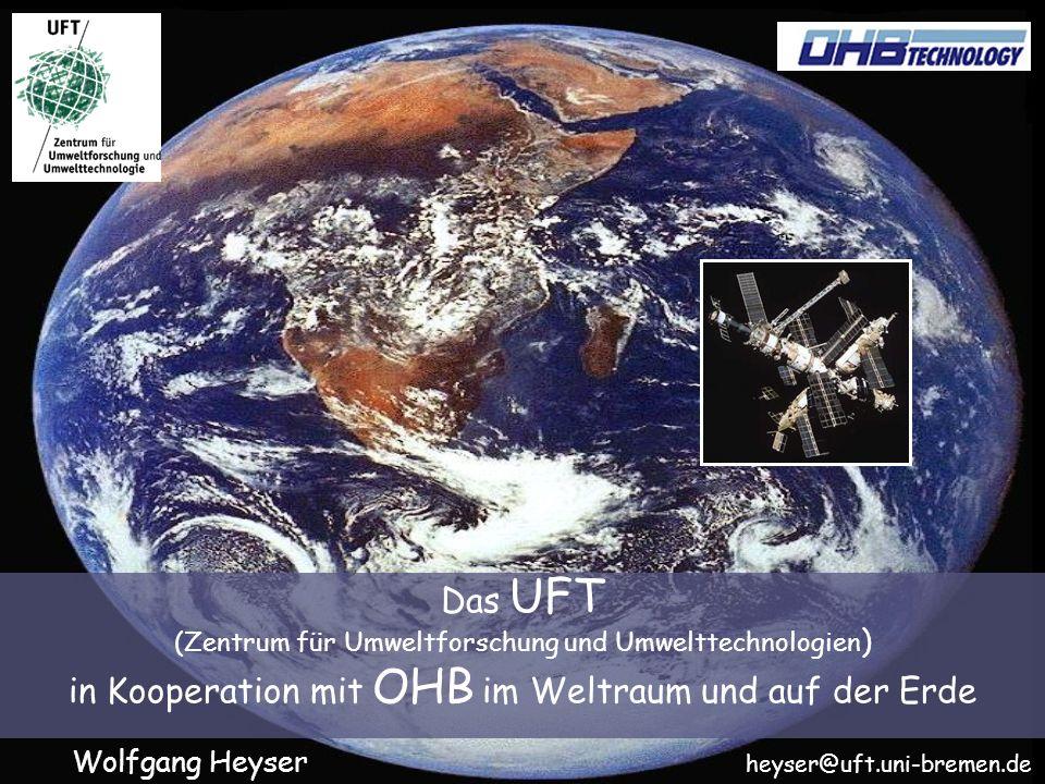 in Kooperation mit OHB im Weltraum und auf der Erde