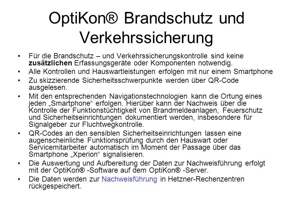 OptiKon® Brandschutz und Verkehrssicherung