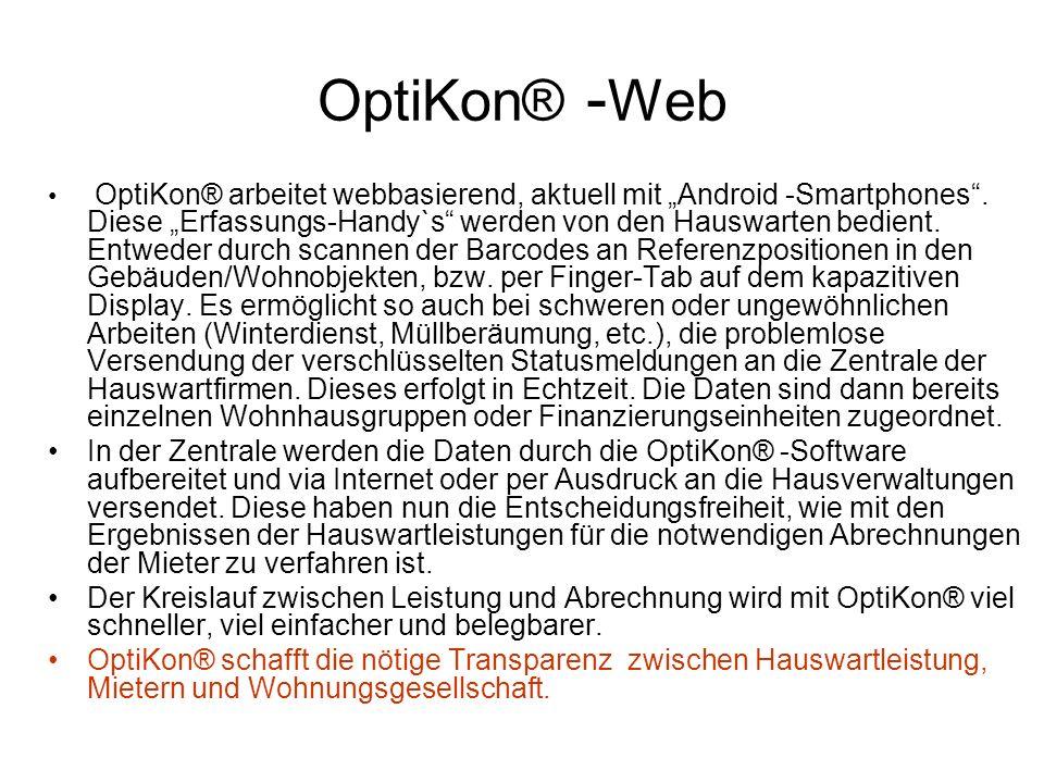 OptiKon® -Web