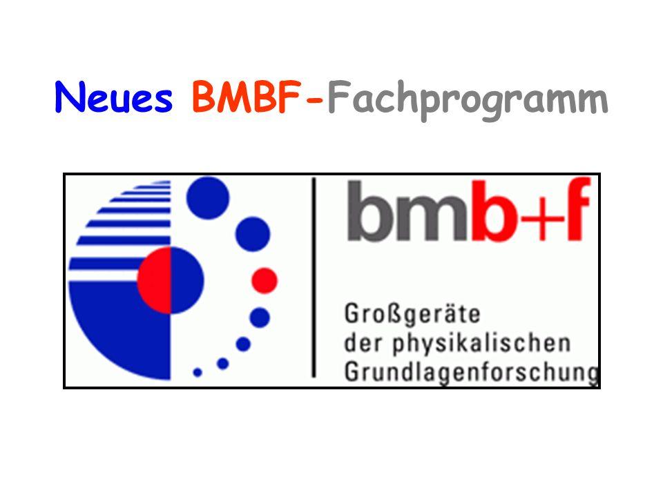 Neues BMBF-Fachprogramm