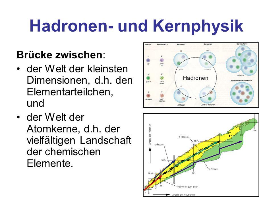Hadronen- und Kernphysik