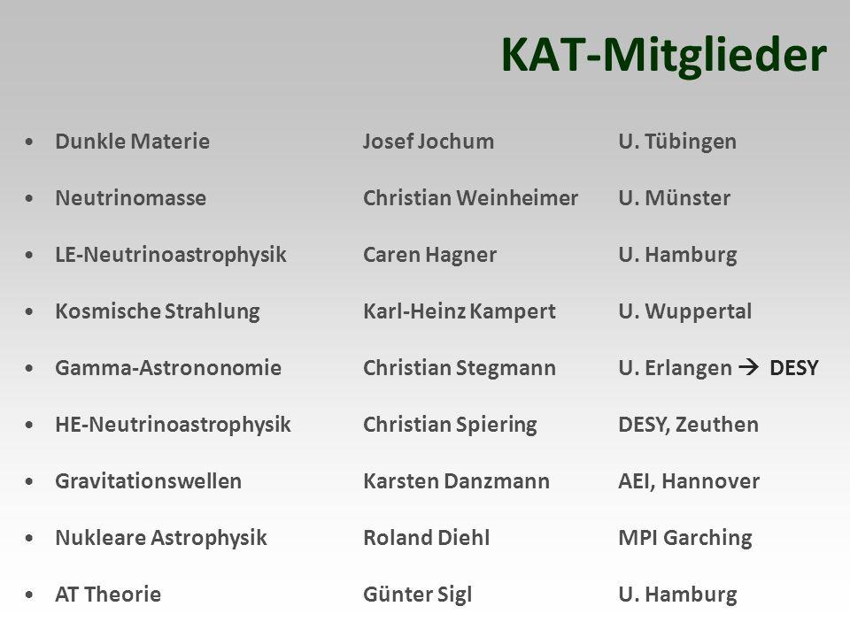 KAT-Mitglieder Dunkle Materie Josef Jochum U. Tübingen