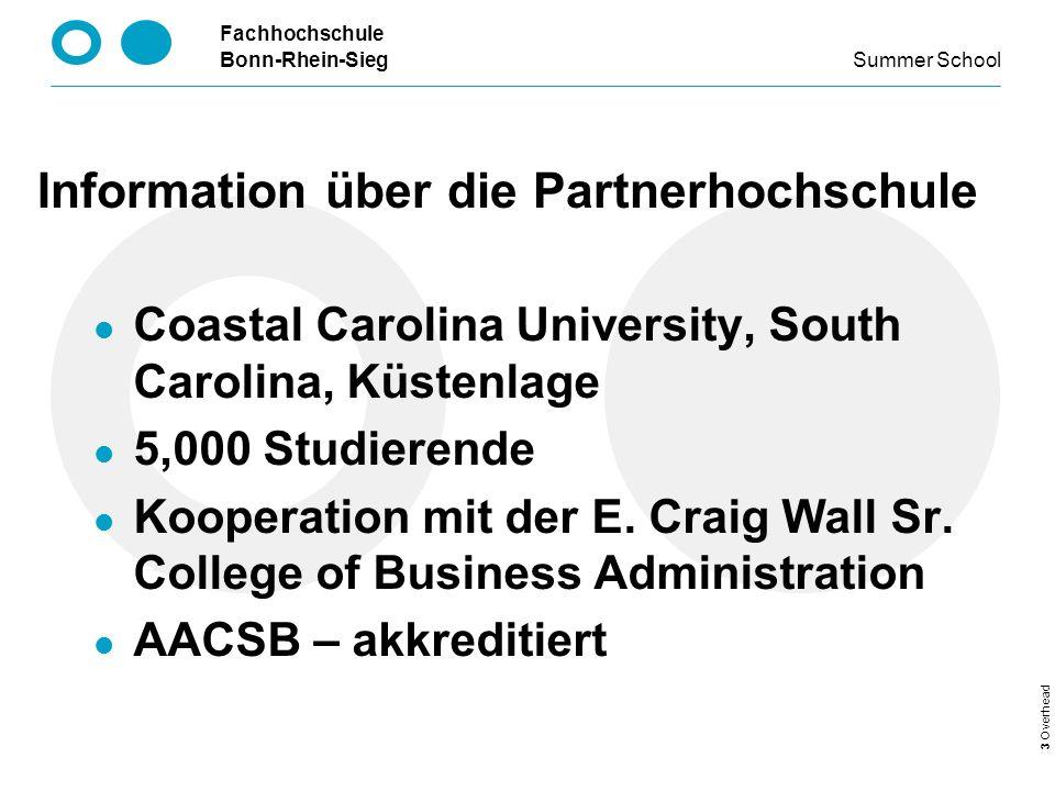 Information über die Partnerhochschule