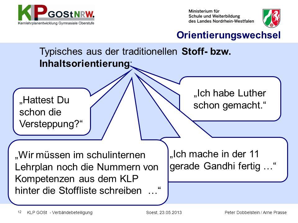"""""""Ich habe Luther schon gemacht."""