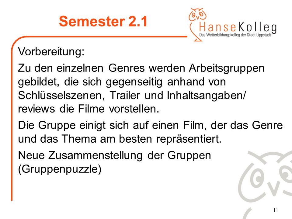 Semester 2.1