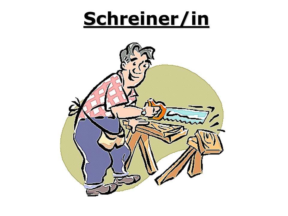 Schreiner/in