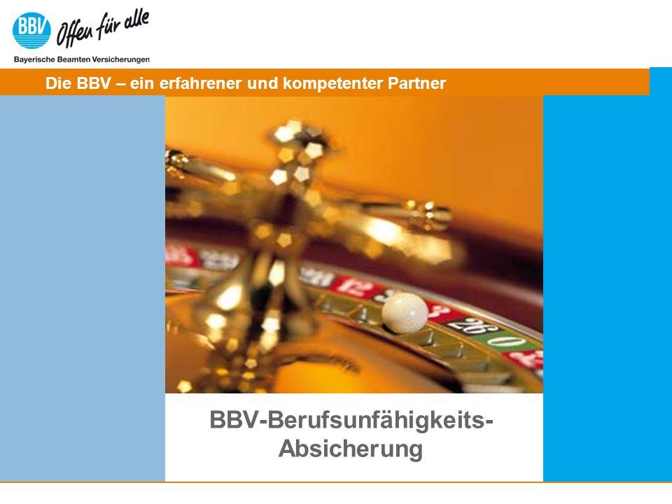 BBV-Berufsunfähigkeits- Absicherung