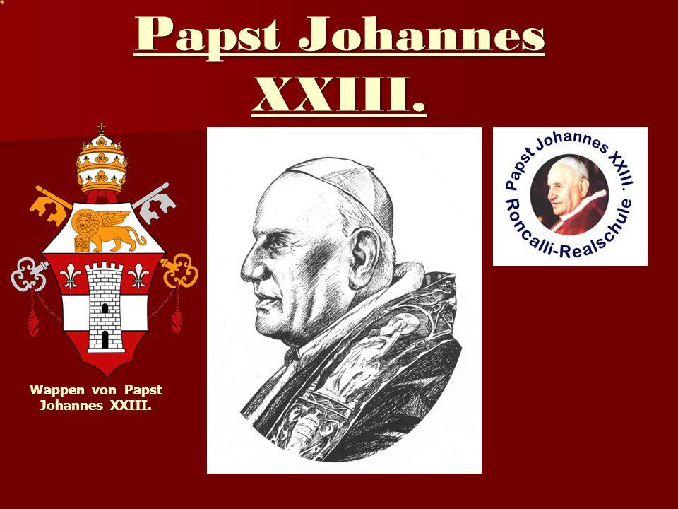 Wappen von Papst Johannes XXIII.