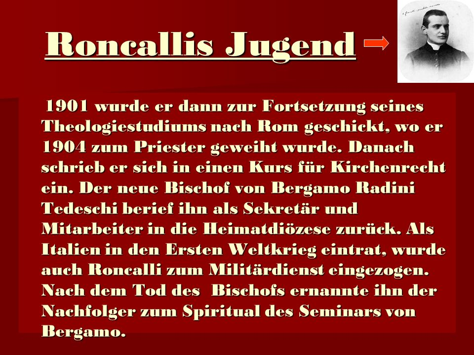 Roncallis Jugend