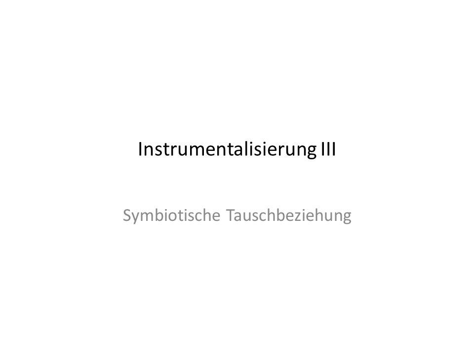 Instrumentalisierung III