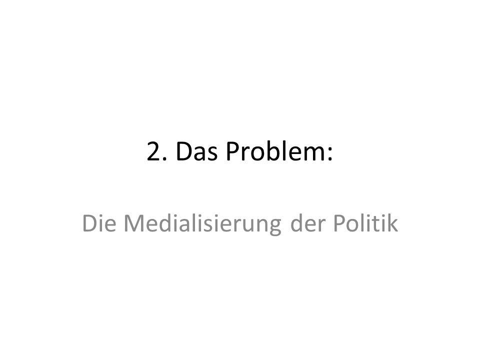 Die Medialisierung der Politik