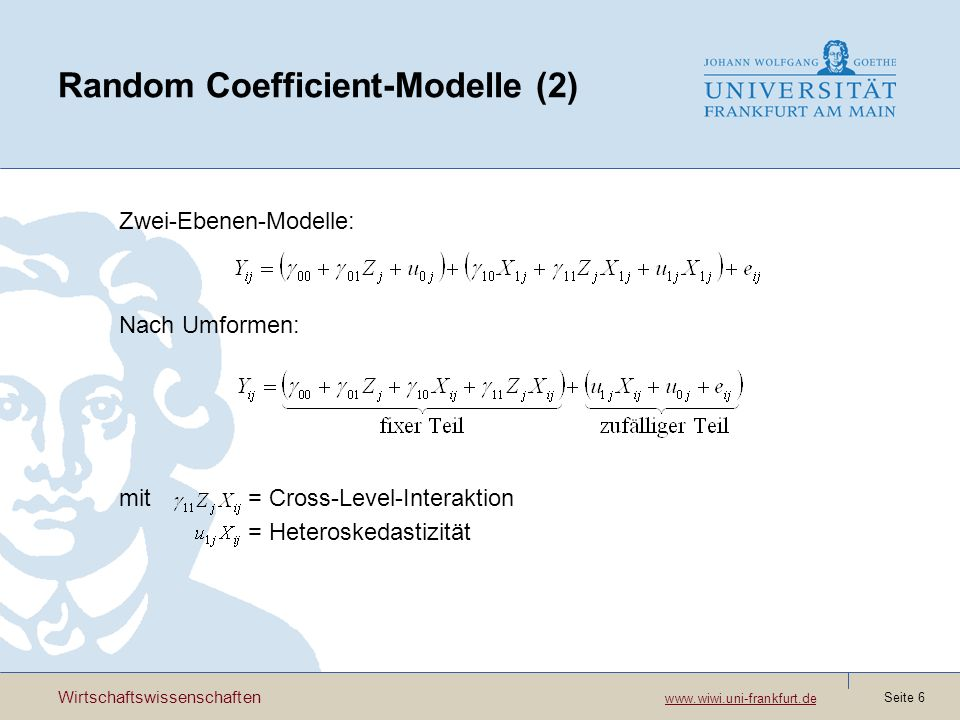 Random Coefficient-Modelle (2)