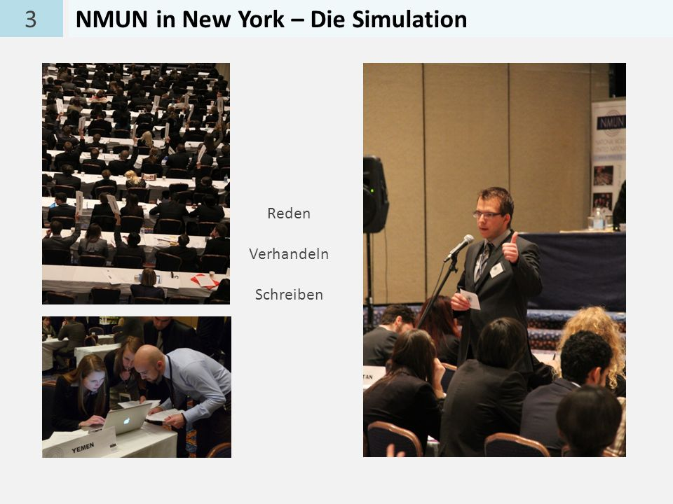 NMUN in New York – Die Simulation