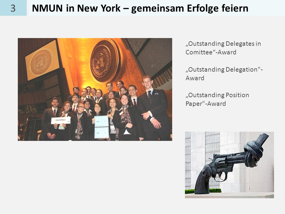 NMUN in New York – gemeinsam Erfolge feiern
