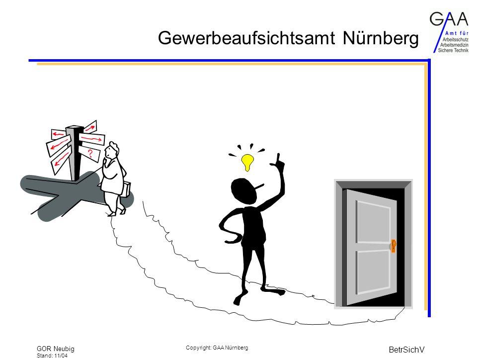 GOR Neubig Stand: 11/04 BetrSichV