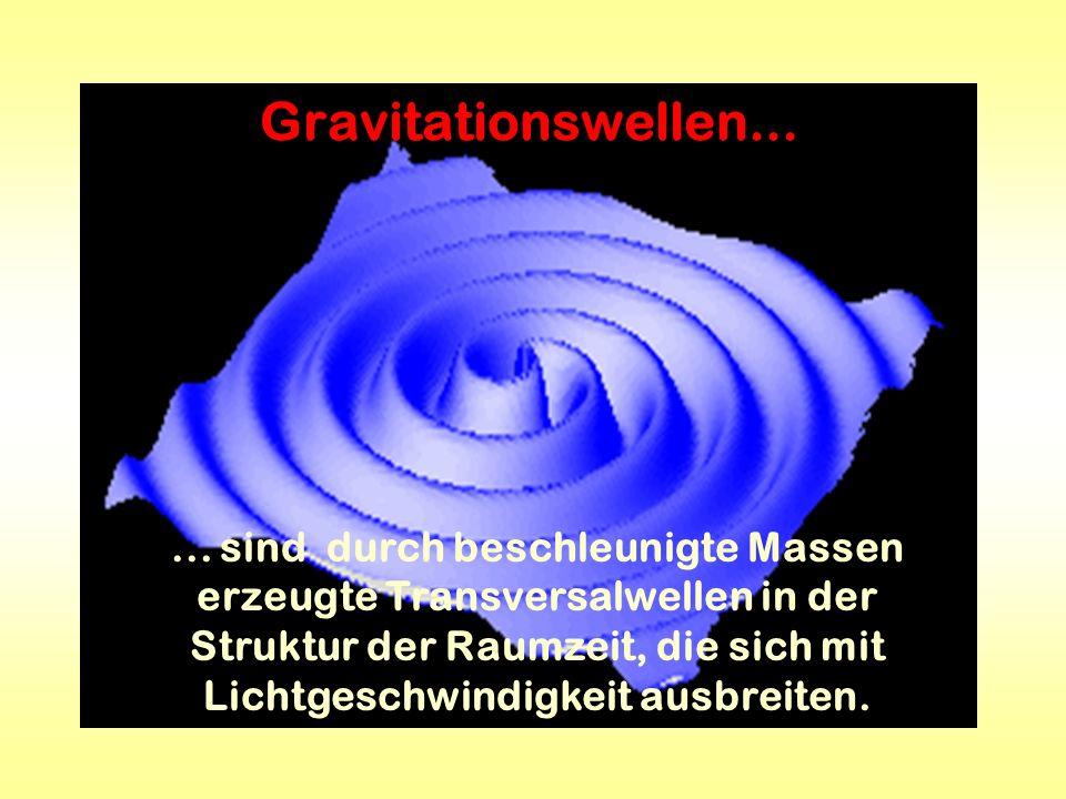 Gravitationswellen...