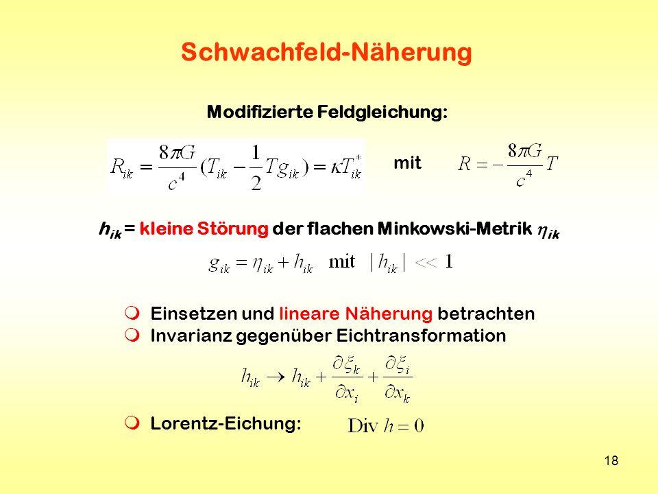 Schwachfeld-Näherung