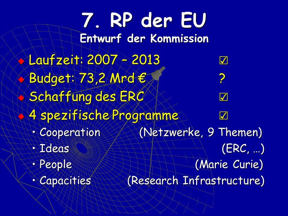 7. RP der EU Entwurf der Kommission