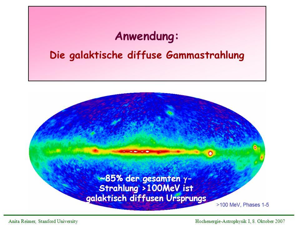 Die galaktische diffuse Gammastrahlung