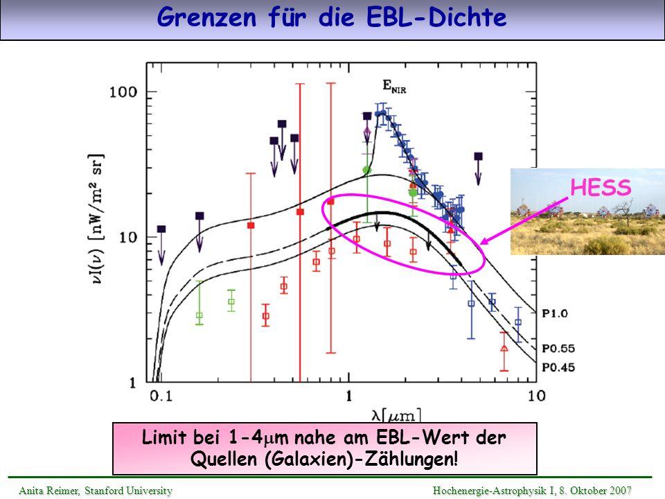 Grenzen für die EBL-Dichte