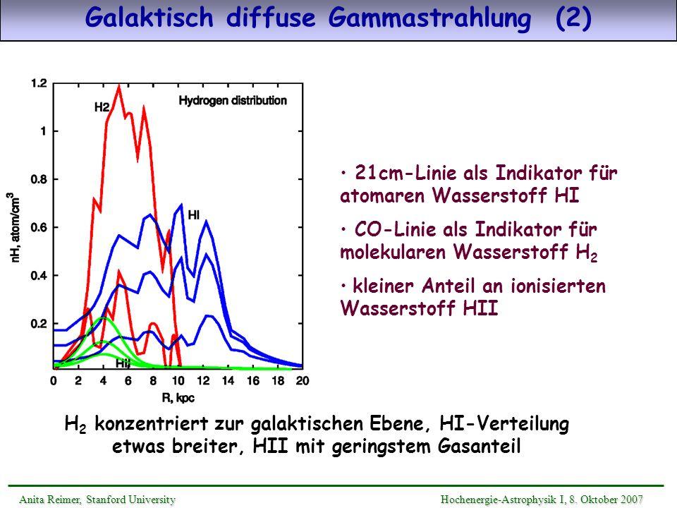 Galaktisch diffuse Gammastrahlung (2)