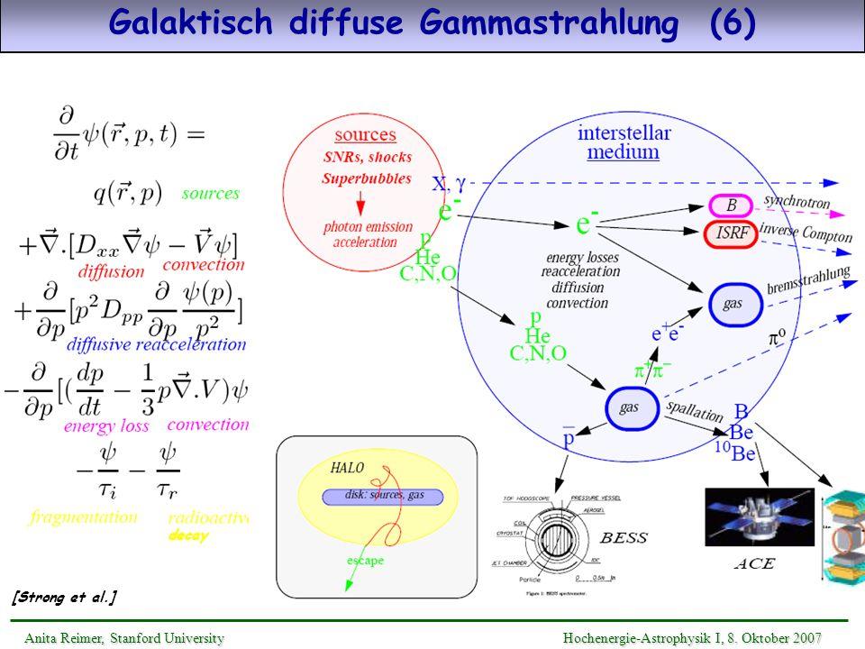 Galaktisch diffuse Gammastrahlung (6)