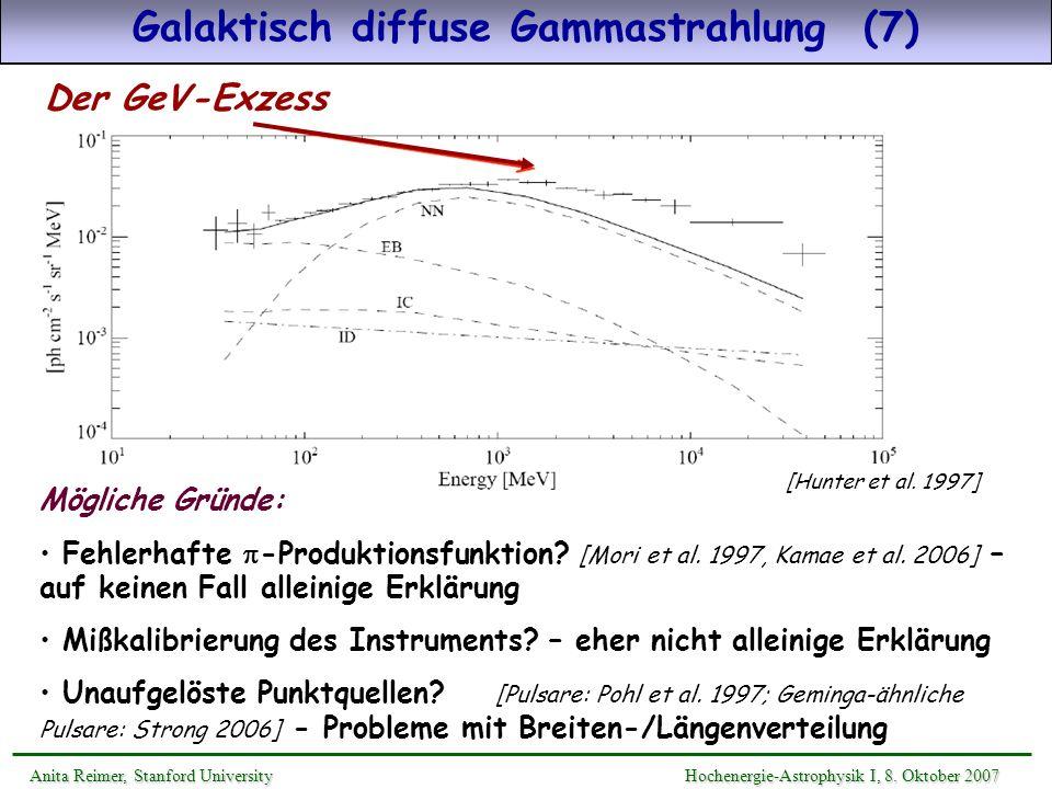 Galaktisch diffuse Gammastrahlung (7)