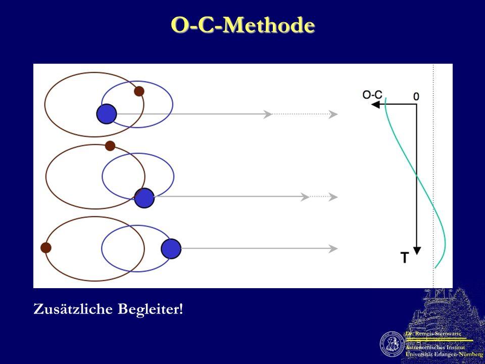 O-C-Methode Zusätzliche Begleiter!