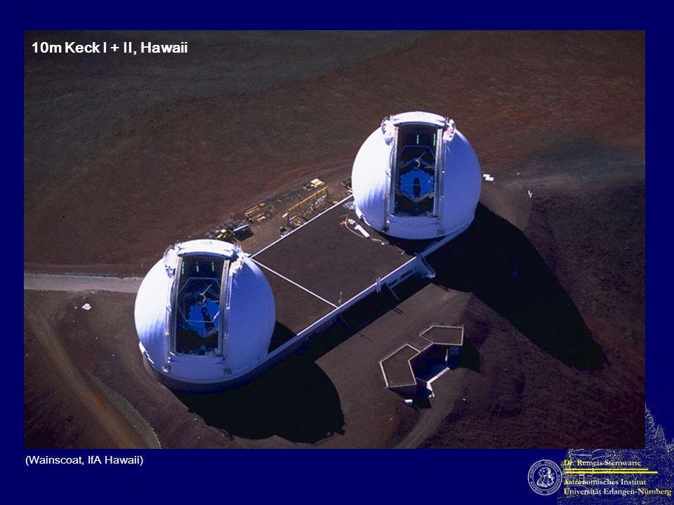 10m Keck I + II, Hawaii (Wainscoat, IfA Hawaii)
