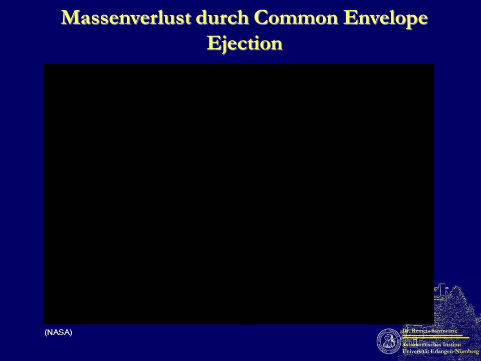 Massenverlust durch Common Envelope Ejection