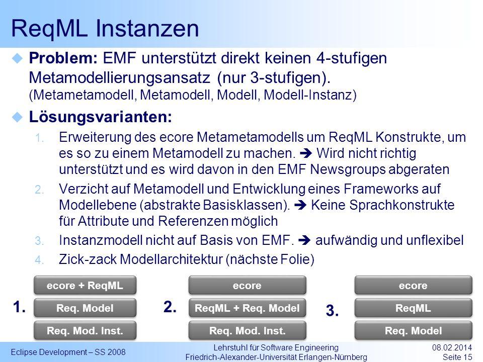 ReqML Instanzen