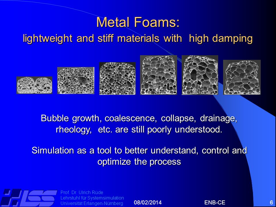 Metal Foams: lightweight and stiff materials with high damping