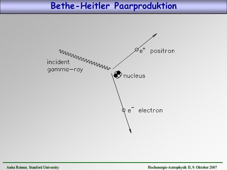 Bethe-Heitler Paarproduktion