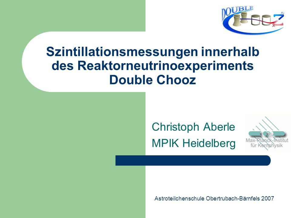 Christoph Aberle MPIK Heidelberg