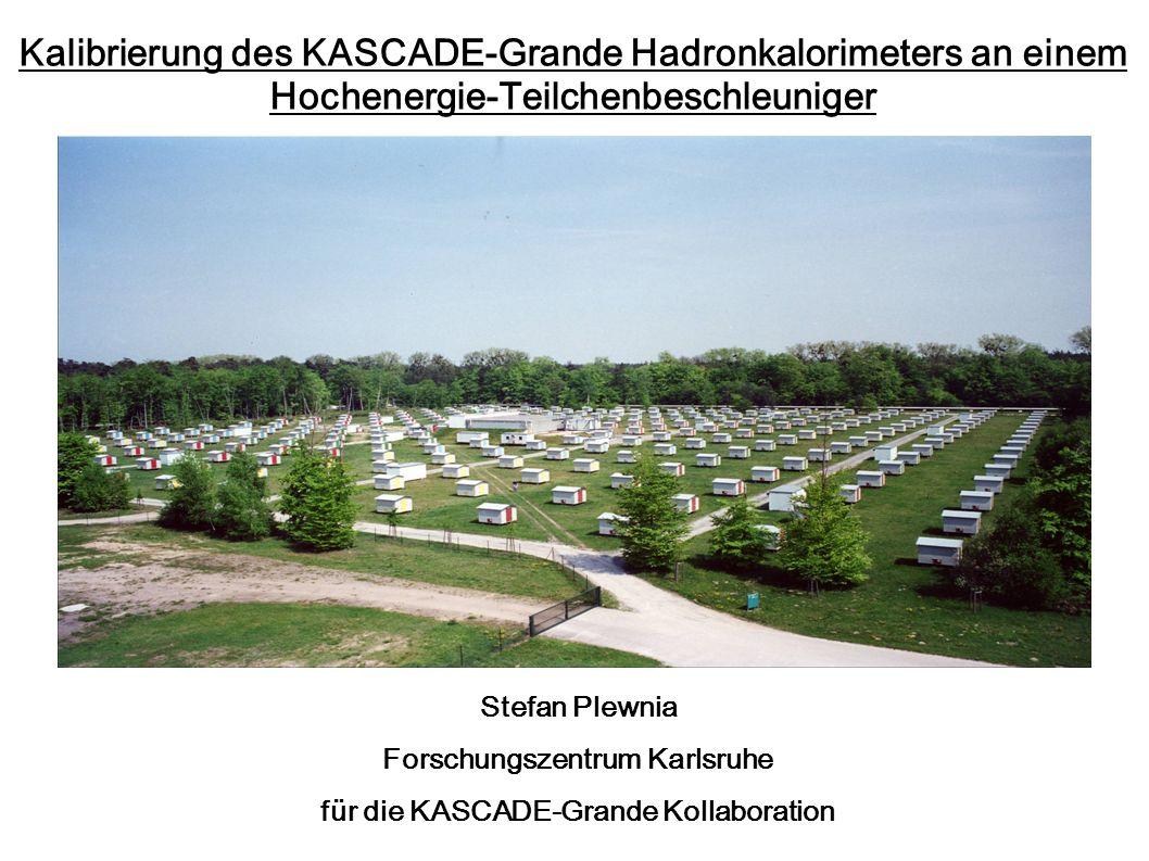 Forschungszentrum Karlsruhe für die KASCADE-Grande Kollaboration