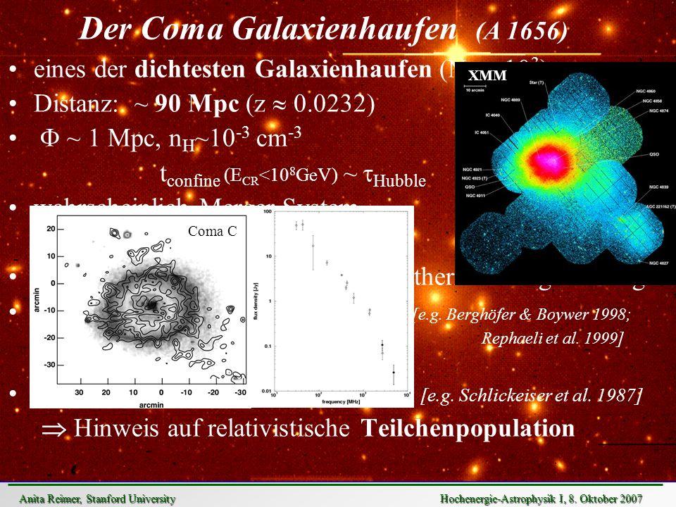 Der Coma Galaxienhaufen (A 1656)