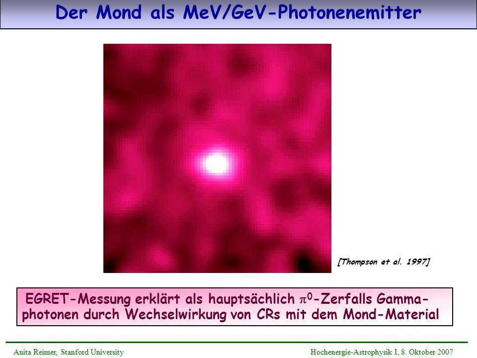 Der Mond als MeV/GeV-Photonenemitter